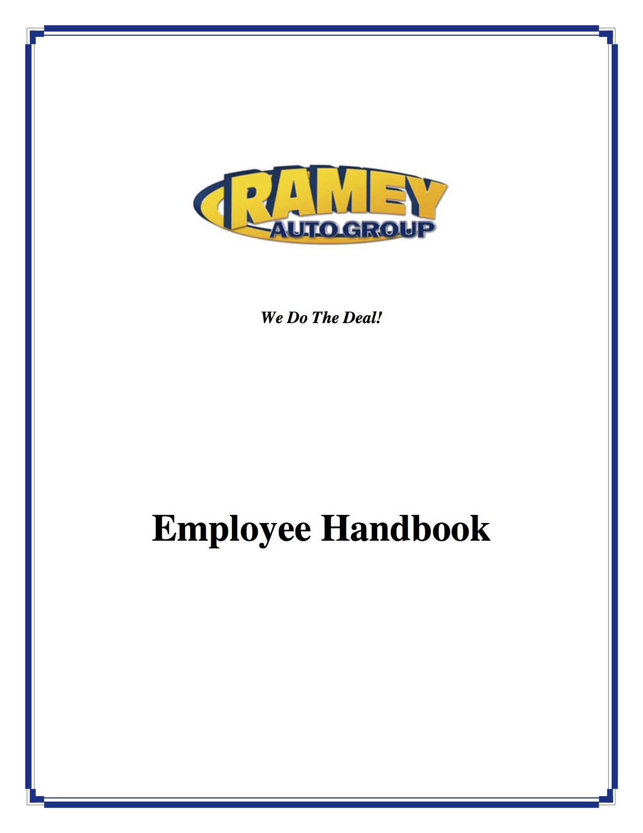 Document Center - Ramey Employee